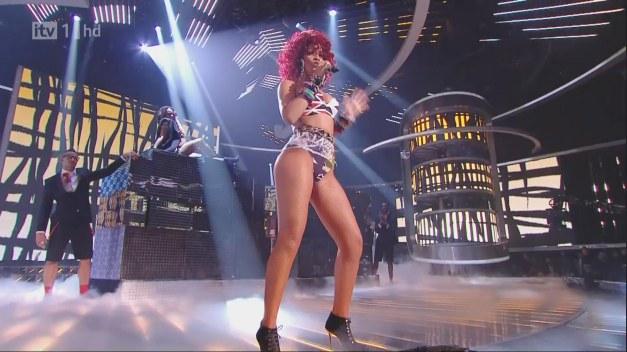 Rihanna Fishnetstockings Pantyhose 1